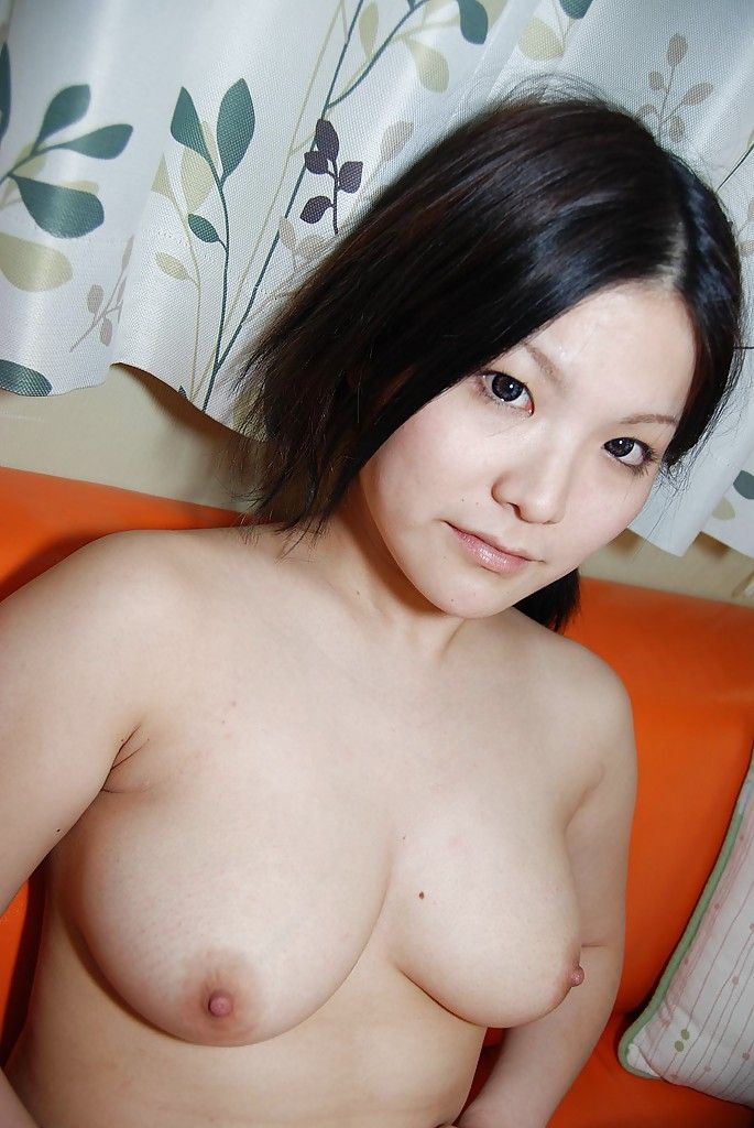 Sassy Chinese queen in nylon knee socks disrobes and has some love-cage vibing gratification
