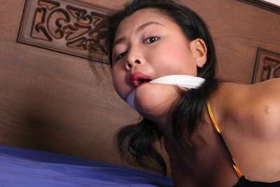 Michikos gagged eastern infant subjugation and domination of plump adolescent tokyo submissive