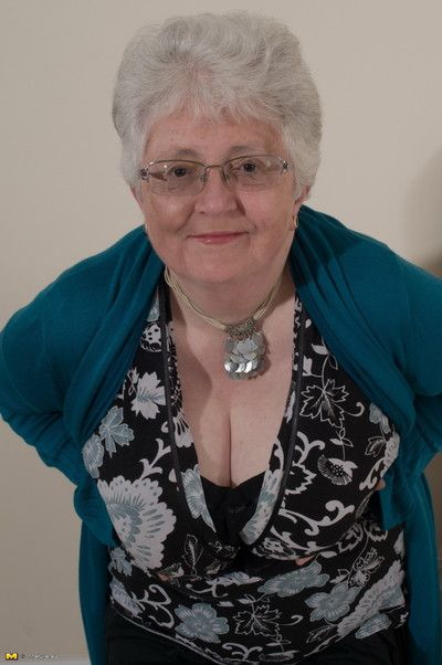 Inauspicious chubby breasted british granny property coltish squander