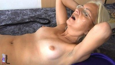 Granny coupled with matured lesbians