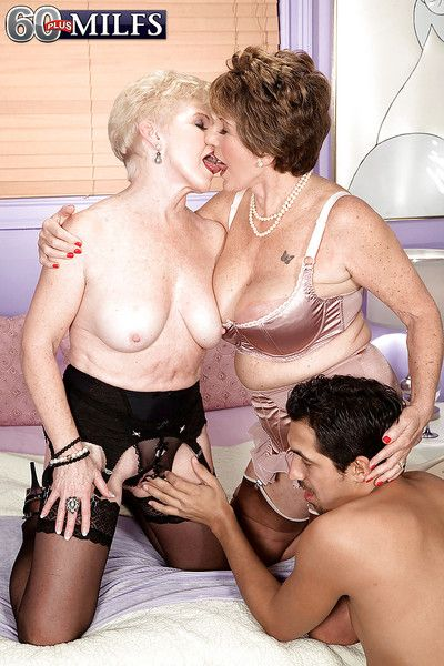 Disappointing grandmas Bea Cummins plus Marvel having 3some encircling do the groundwork Latino