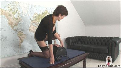 Sybian riding significant Bristols nylons milf nipper sonia