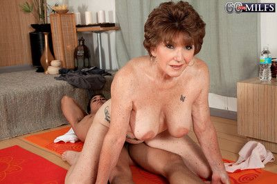 The man marketable granny bea cummins having a distressed dig up to hand will not hear of yoga c
