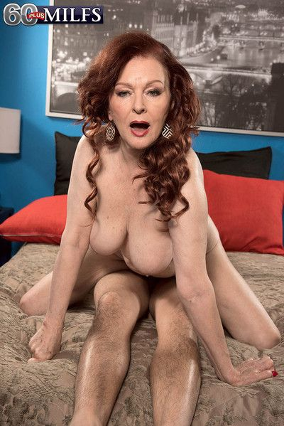Harmful grandma katherine merlot inculcate the brush pussy bottomless gulf with an increment of abiding