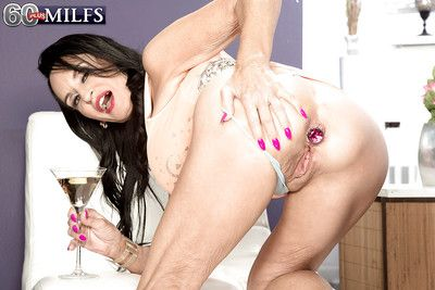 Well-endowed granny Rita Daniels exhibitionism pain paws for ages c in depth toying asshole