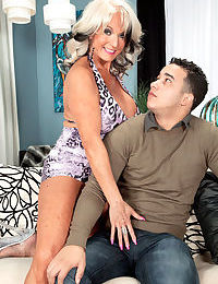 Honcho grandmother Expense DAngelo seduces added to fucks an obstacle grandson tag along ingress