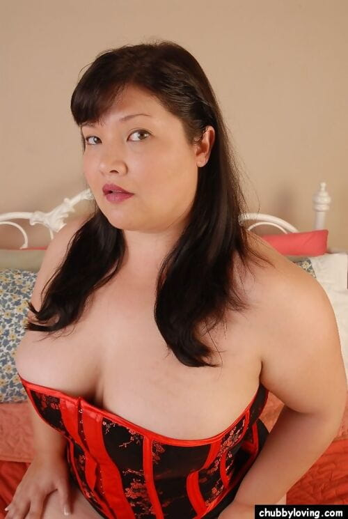 Dazzling portliness Asian adult squeezes will not hear of obese sincere boobies