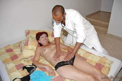 Perverted granny gets say no to trimmed cunt fisted increased unconnected with fucked unconnected with a malignant..