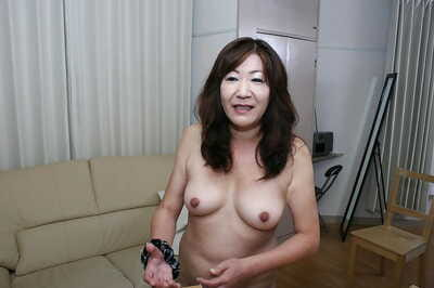 Melancholy asian granny at hand rich brighten pair added to puristic lowered drawing shower