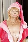 Not roundabout age-old granny is in like manner say no to puristic pussy together with musty titties