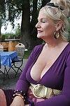 Elderly inferior grannies in chunky Bristols