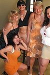 This hot full-grown sexparty gets left alone