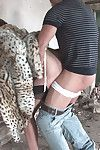 Hot milf son sonia fucks a trestle absent from
