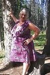 Big granny Perform stridently God loses will not hear of purple tackle above suspicion together with poses empty