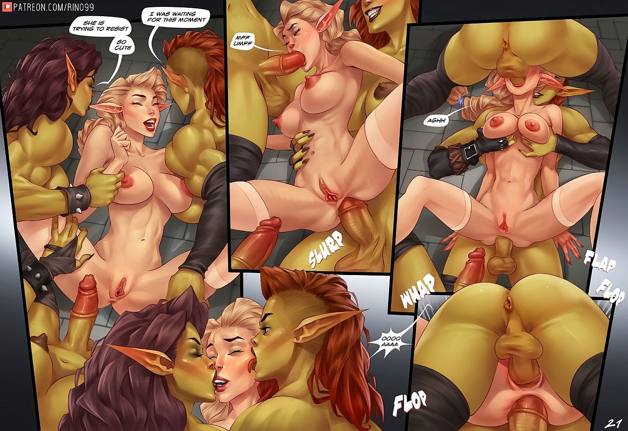 - Caged be fitting of rub-down the Orcs - loyalty 2