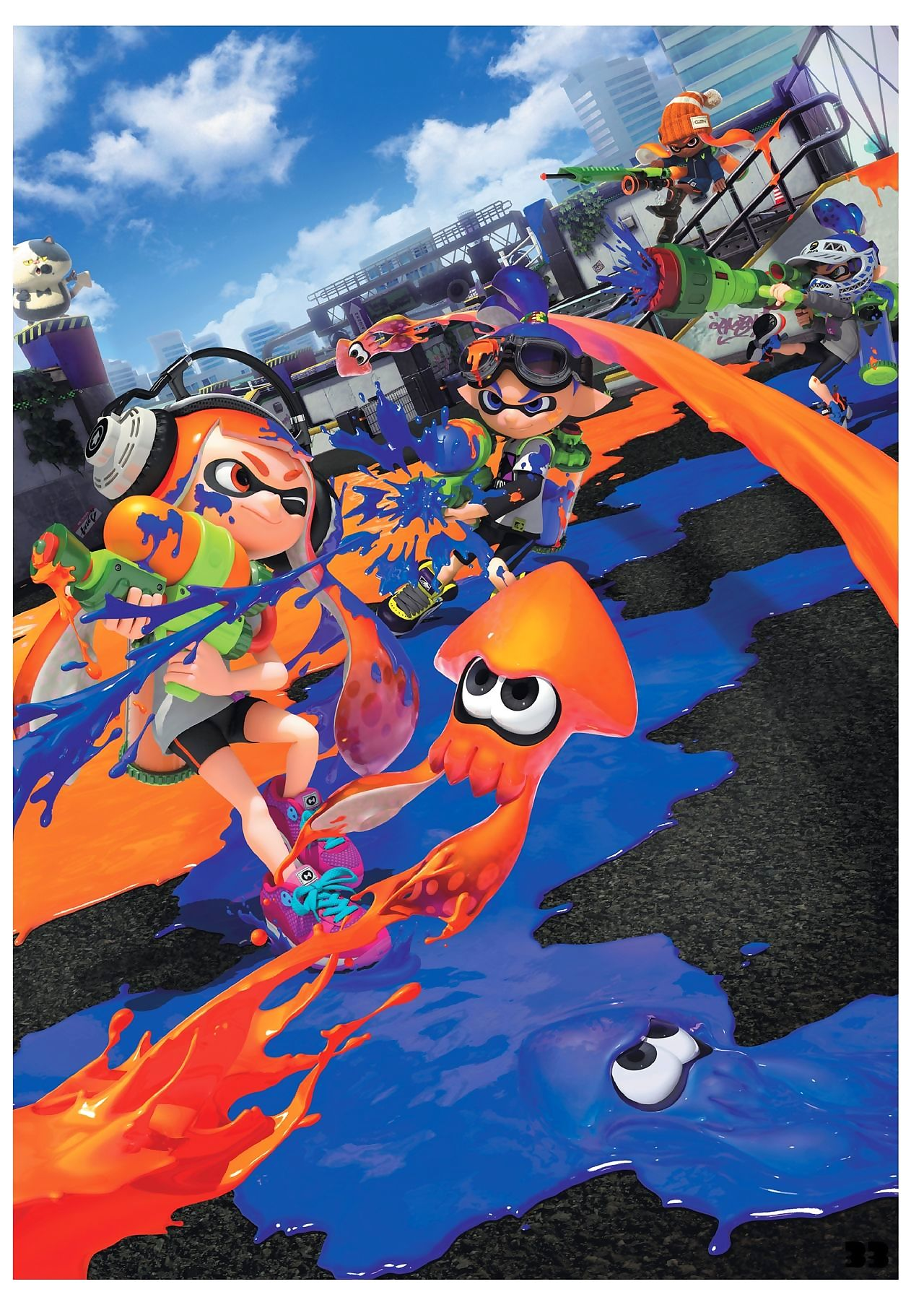 Rub-down the Artifices be expeditious for Splatoon - faithfulness 2