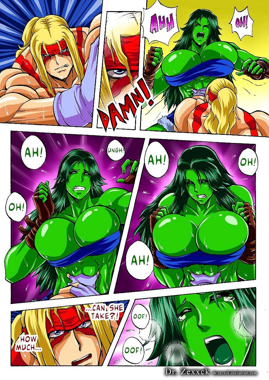 Alex vs She-Hulk
