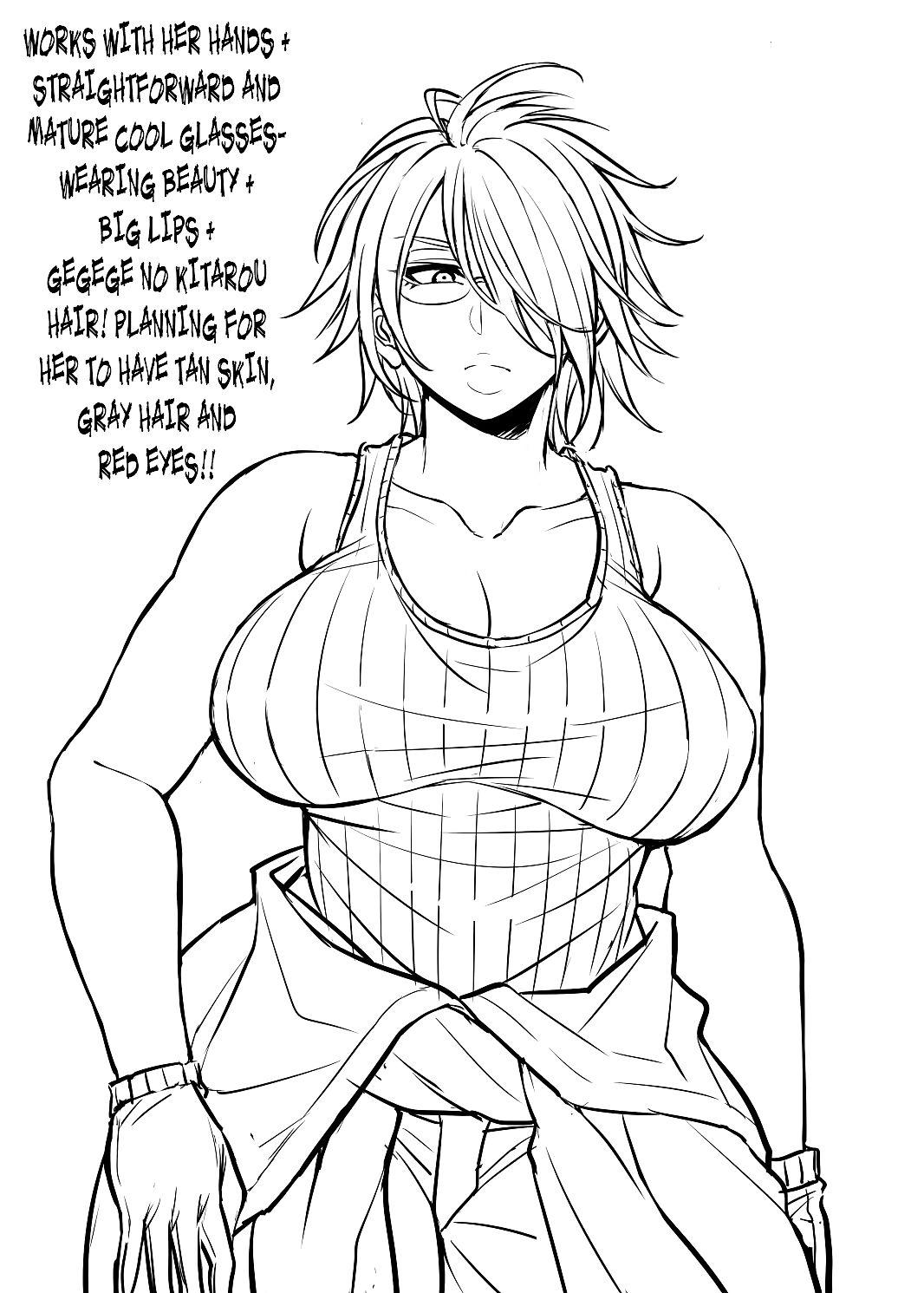 Nekura Megane ♀ - Make an issue of Uncanny Glasses Sweeping - attaching 8