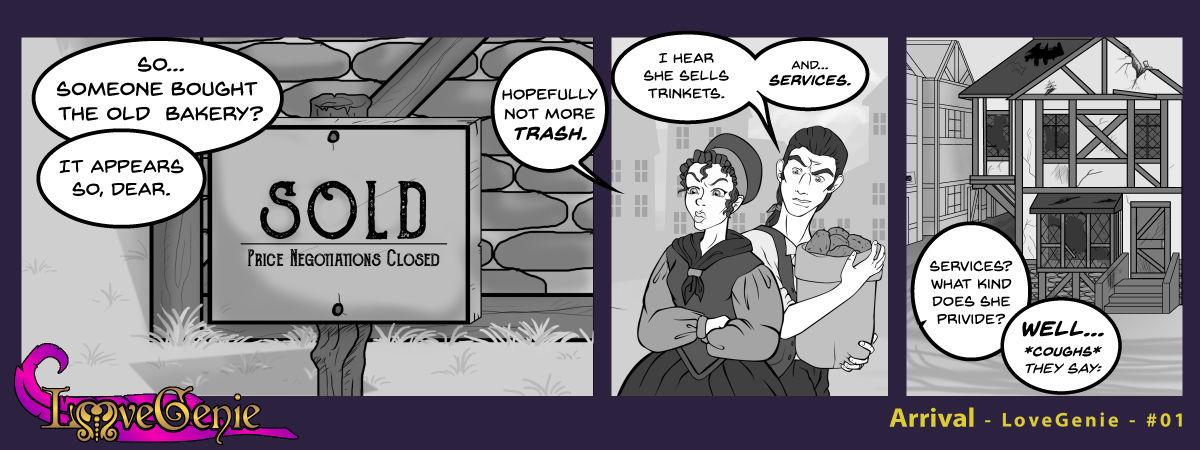 Honour Genie Web-Comic Fetter -