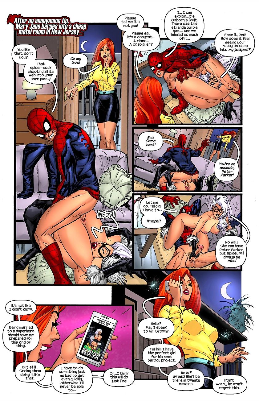Mary Jane Makes A Porno