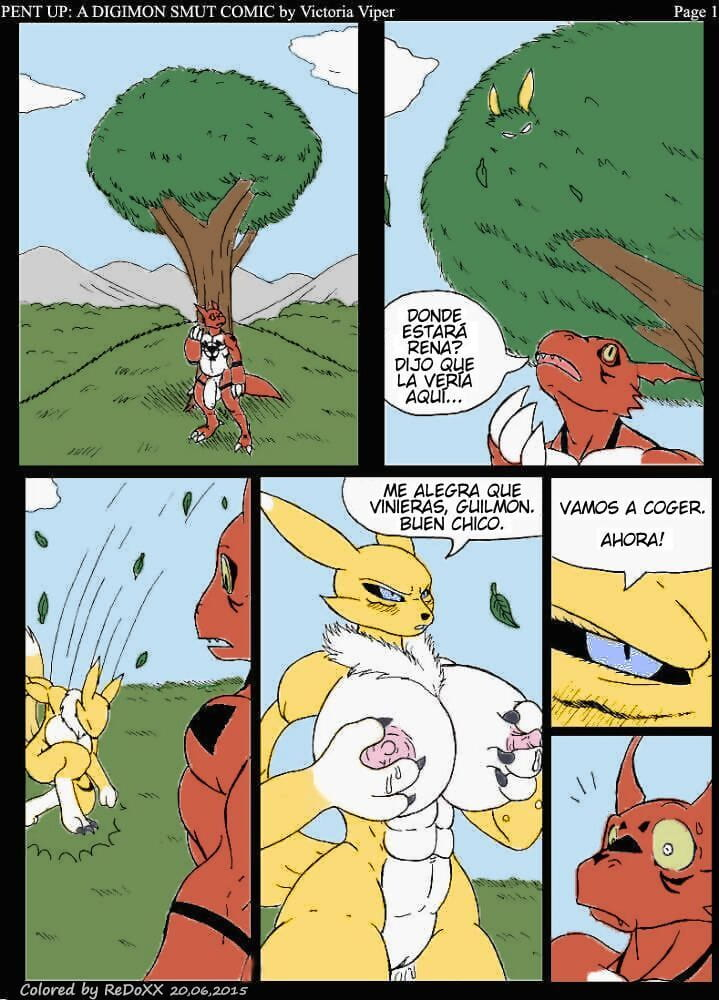 Reprimido: Un Funny man De Obscenidades Digimon