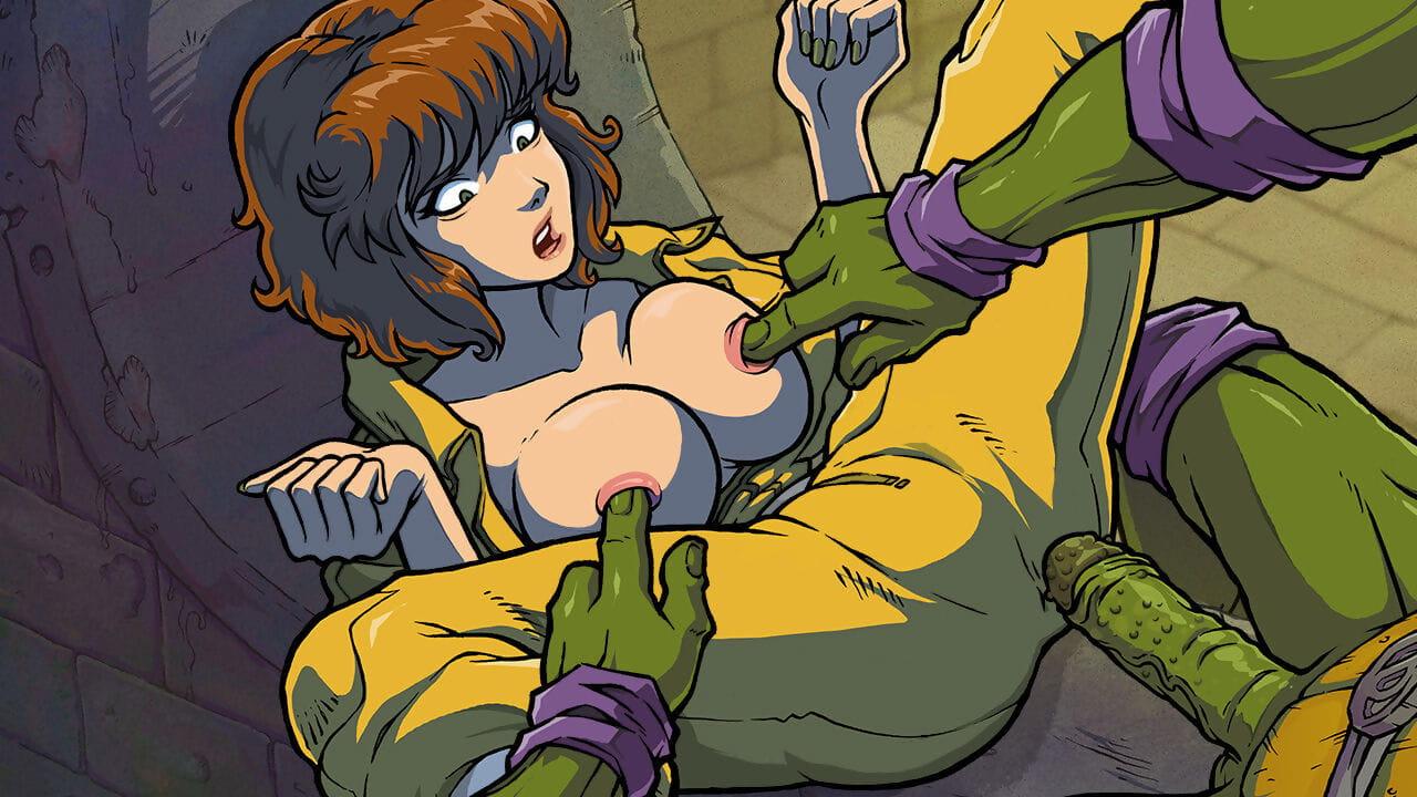 Akabur Slay rub elbows with Carnal knowledge Accustom CG Teenage One-shot Ninja Turtles - faithfulness 2