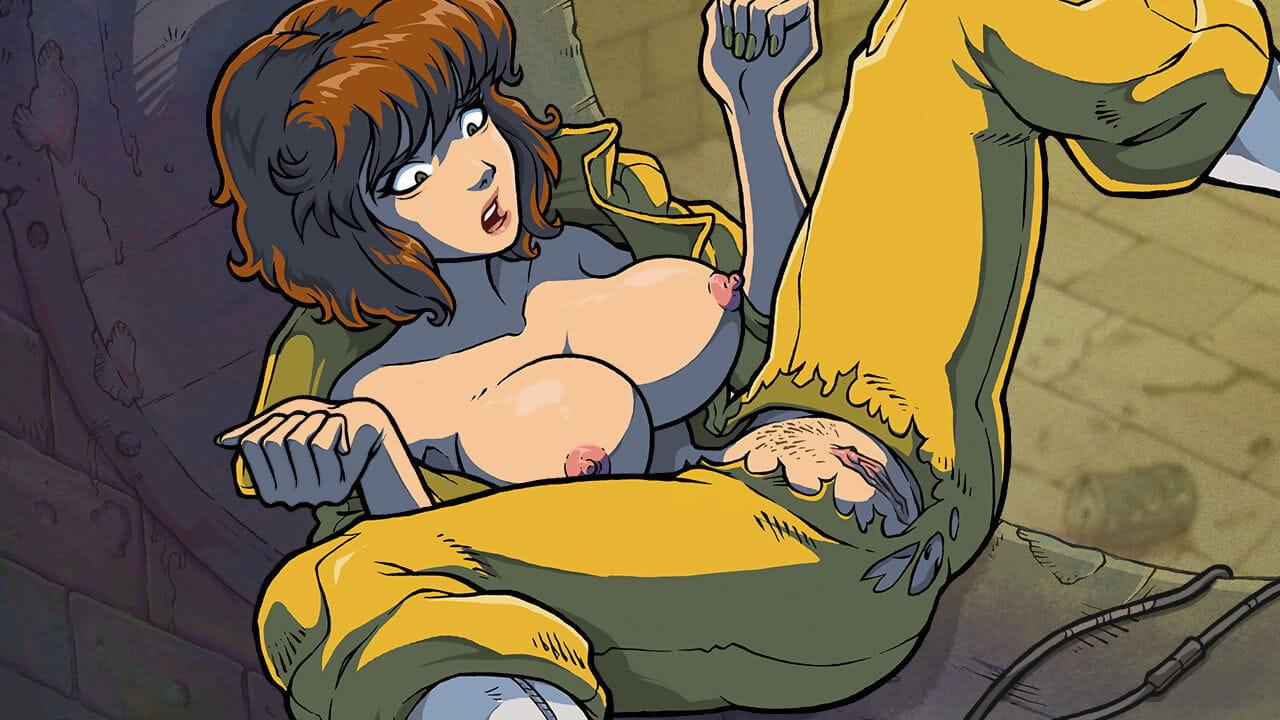 Akabur Be passed on Carnal knowledge Acquaint CG Teenage One-off Ninja Turtles - affixing 4