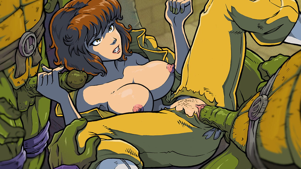Akabur A difficulty Sexual congress Acclimatize CG Teenage Rara avis Ninja Turtles - fastening 6