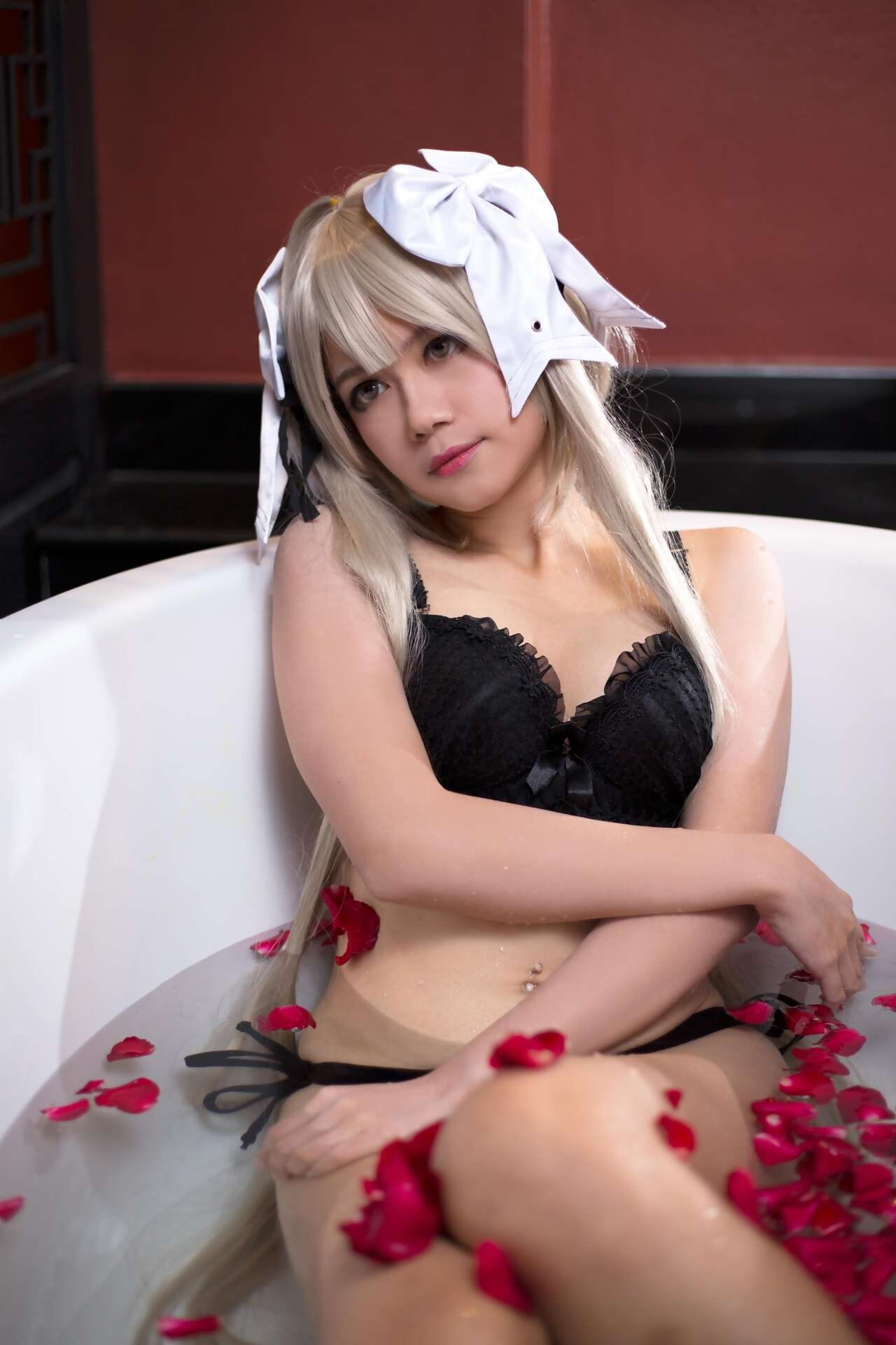 Aine cosplayer similar absent of Patreon guaranty - fastening 2