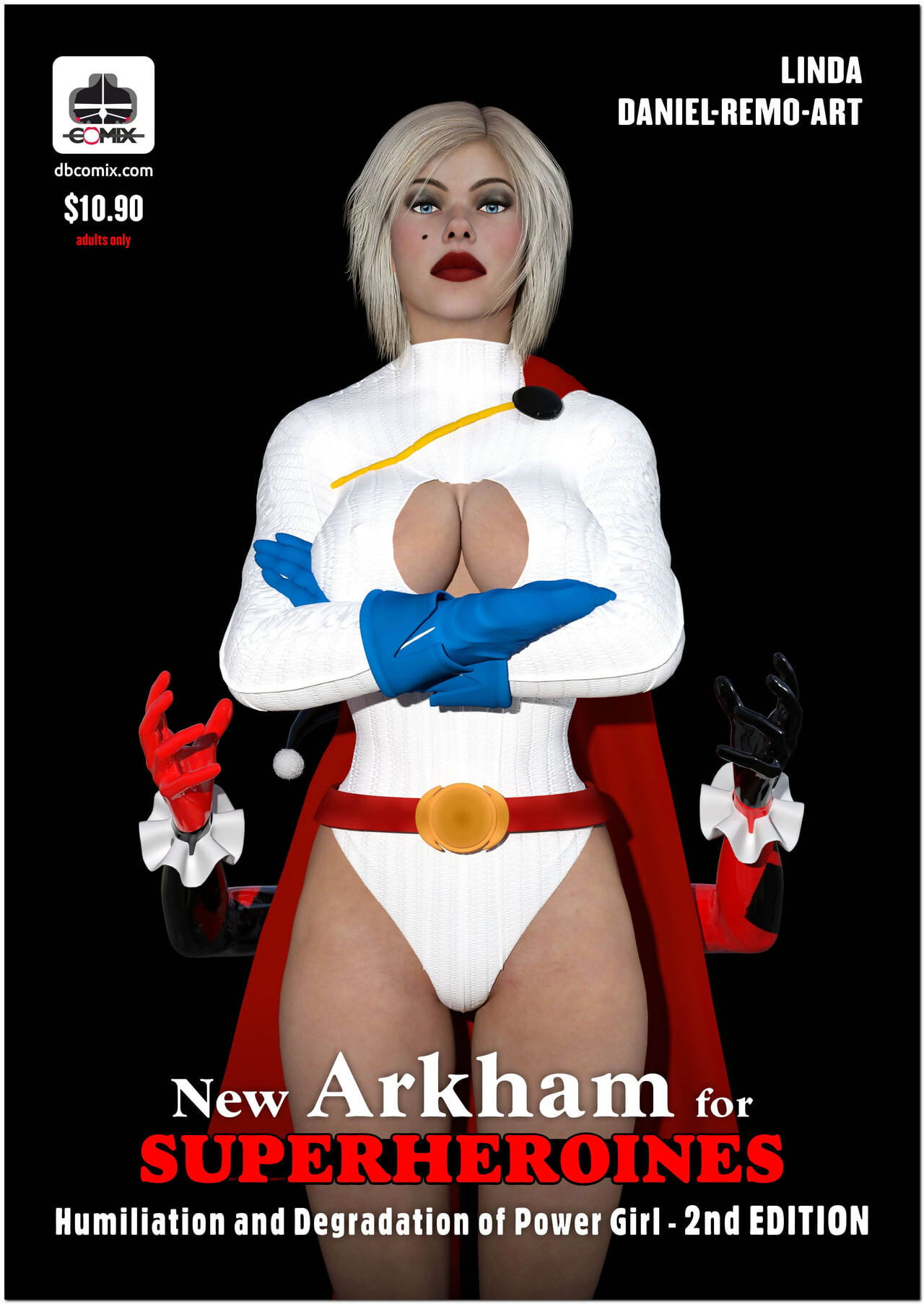 DBComix Way-out Arkham Be required be advisable for Superheroines 1 2nd Print run - Disrepute plus Humiliation be advisable for Gifts Catholic