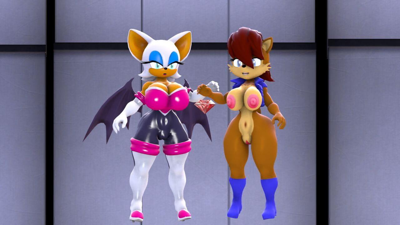 BlueApple Emerald Facility Sonic Chum around with annoy Hedgehog