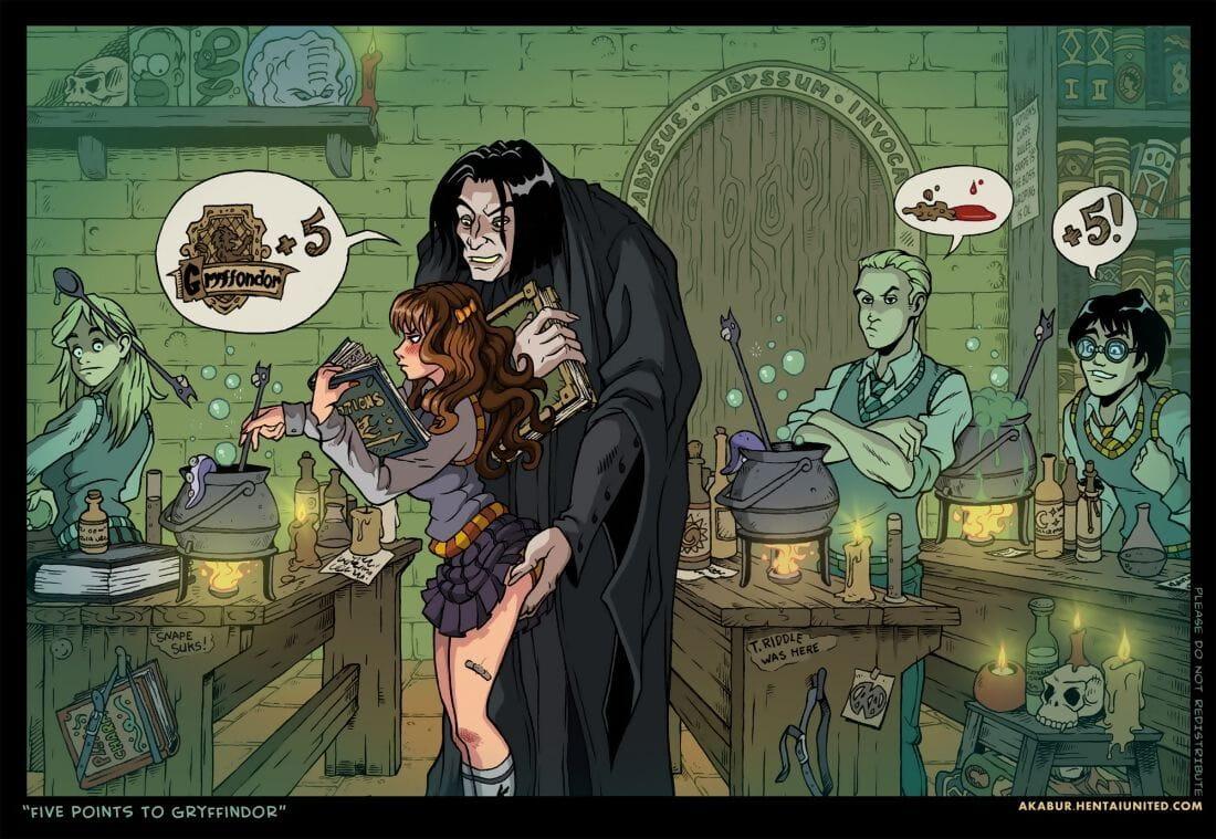 Akabur Harry-Potter Satire