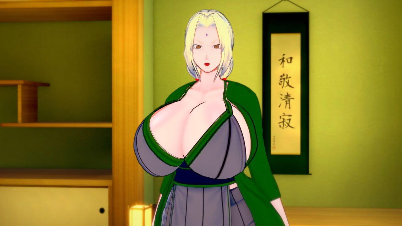 Koikatsu Tsunade becomes Raikages Fit together Naruto