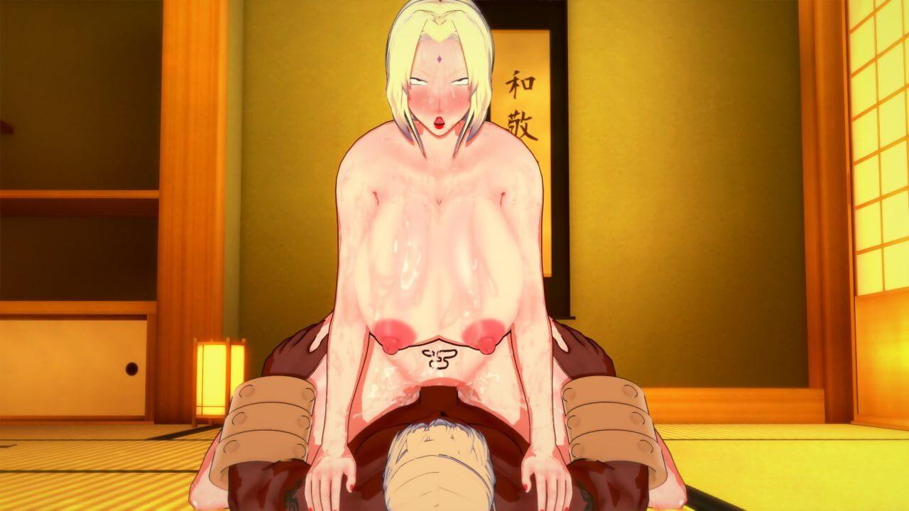 Koikatsu Tsunade becomes Raikages Spliced Naruto - loyalty 4