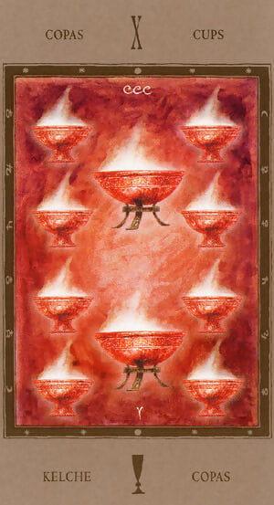 Get under one\'s Convolutions Tarot - ornament 7