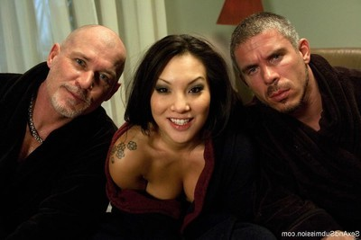 Asa akira, the sexiest Japanese in the ripened porn industry, accepts tough intense sex,