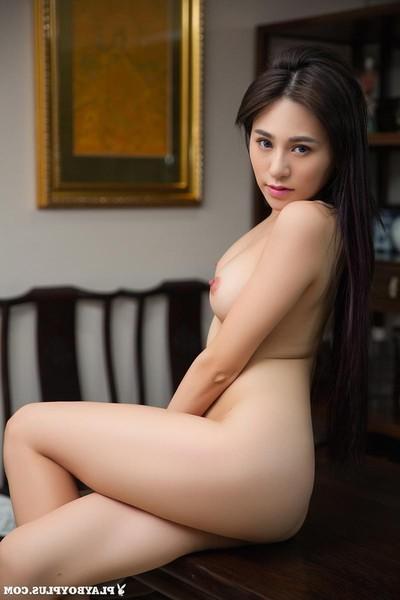 Damp hungry Chinese vixen