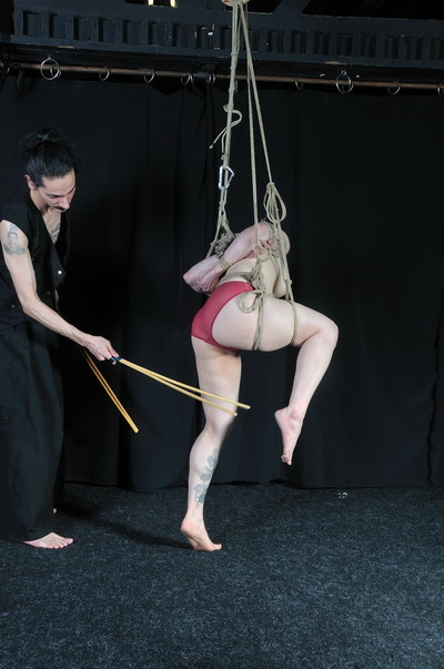 Japanese devils suspension subordination and bamboo drubbing