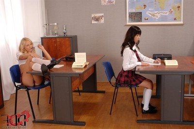 Marica hase obtains punished by sexual school beauty vanda