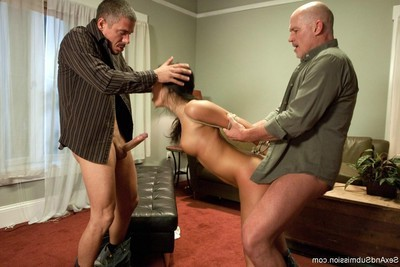 Hot lass obtains attached up, dominated and intense screwed in subjection
