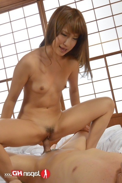 Unclothed Japanese Girl Lets A Passionate Stallion Gain On Master Of Her And Sex grouping Her In Missionary Position Then This babe Rides On His 10-Pounder Sooner than This babe Lets Him Fuck Her Doggy style Then This babe Purchases Dug In Spooning Positi