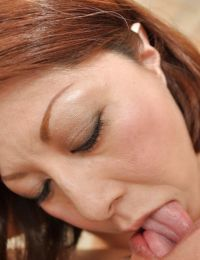 Sultry Chinese MILF Norie Takahata gives a corporeal fellatio and accepts nailed
