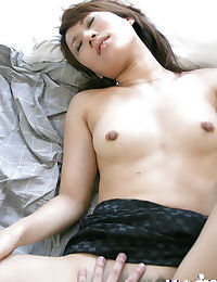 Hawt Japanese young with hirsute muff gives a oral sex and purchases bonked
