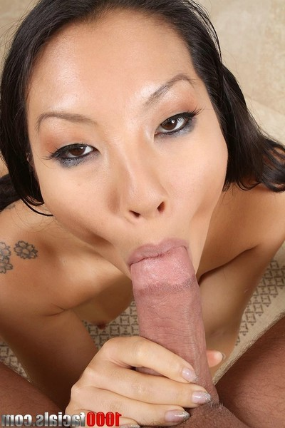Japanese pornstar asa akira eagerly takes a facial