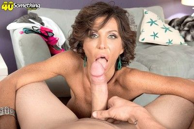Horny milf lyla lali getting stiff cock yawning chasm in her ass