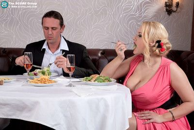 Date round a hot busty investor angel wicky