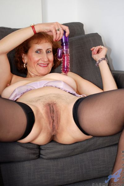 Anilos model flaunts milky extrinsic chunky tits and racy groomed pussy