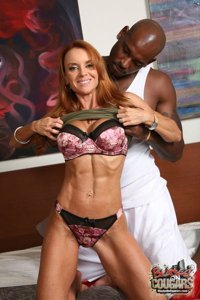 Janet Mason gets an interracial sex wadding