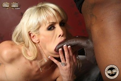 Flaxen-haired mikki lynn roughly interracial anal fuck actions