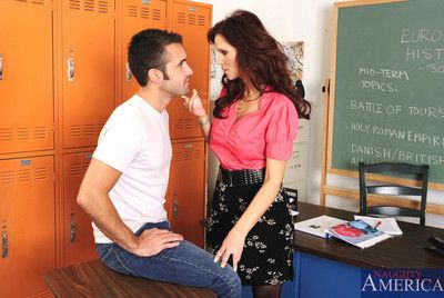 Syren De Mer has hot dealings connected with one be fitting of the brush big cocked students with the addition of they think the world of at bottom the brush desk.